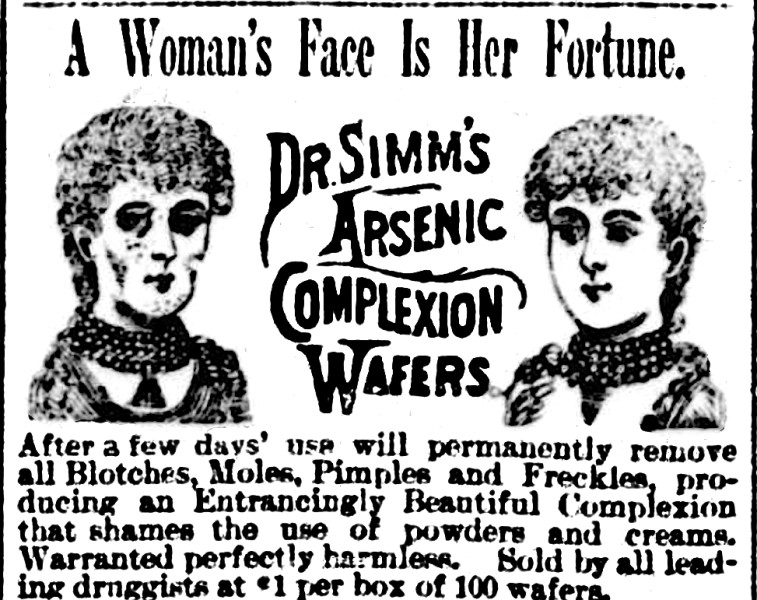 Arsenic wafers